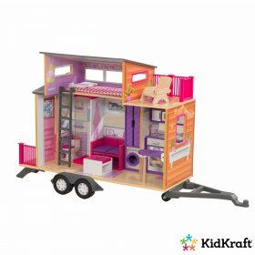 لعبة بيت الدمى المتحرك KidKraft - Teeny House Dollhouse