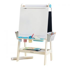 لوح رسم مع حامل خشبي KidKraft - Create N Play Art Easel