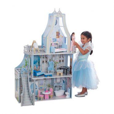لعبة قلعة الدمى KidKraft - Magical Dreams Castle Dollhouse with EZ Kraft Assembly™