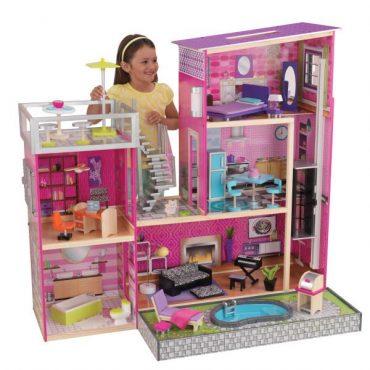 لعبة بيت الدمى KidKraft - Uptown Dollhouse