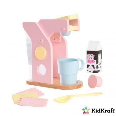 مجموعة القهوة للأطفال KidKraft - Coffee Set - زهري / أزرق