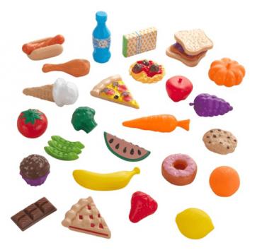 مجموعة ألعاب الطعام KidKraft - 30 Piece Food Set