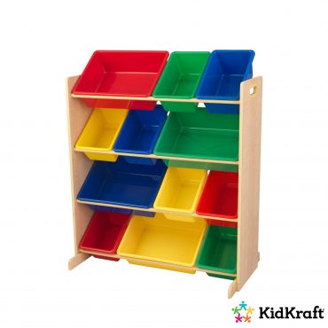 12 صندوق تخزين للأطفال KidKraft - Sort it & Store It Bin