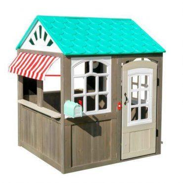 بيت الألعاب الخشبي KidKraft - Coastel Cottage Playhouse