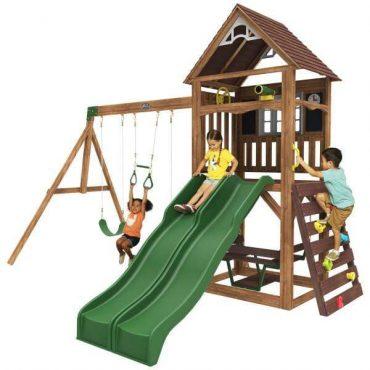 برج ألعاب للأطفال KidKraft - Lindale Swing Set / Playset