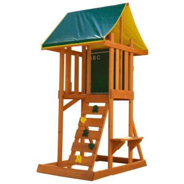 لعبة البيت الخشبي KidKraft - Meadowside II - Yellow Slide