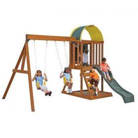 مجموعة ألعاب للأطفال KidKraft - Ainsley Outdoor Swing Set / Playset