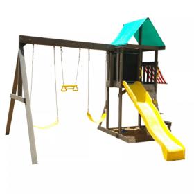 مجموعة ألعاب للأطفال KidKraft - Newport Wooden Playset