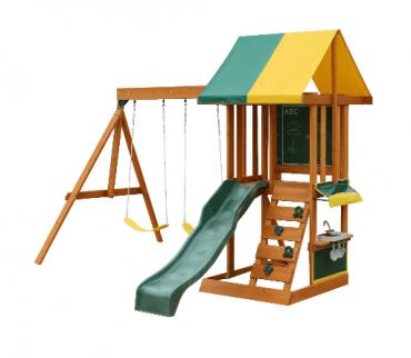 مجموعة ألعاب للأطفال KidKraft - Sun Bistro Swing Set