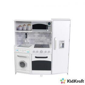 مجموعة ألعاب المطبخ KidKraft - Large Play Kitchen - أبيض