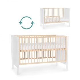Kinderkraft Baby سرير أطفال خشبي white