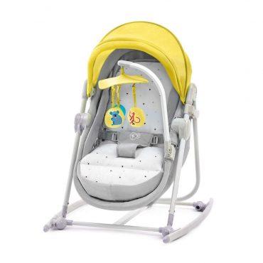 Kinderkraft  سرير قابل للطي 5IN1 UNIMO yellow