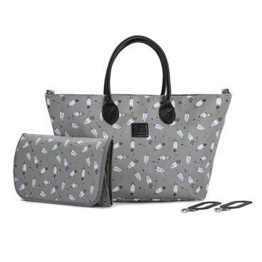 Kinderkraft حقيبة MOMMY BAG grey