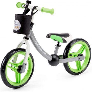 Kinderkraft Balanceدراجة 2WAY next green/gray z akcesoriami