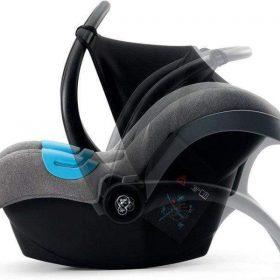 Kinderkraft مقعد سيارة للأطفال MINK gray melange
