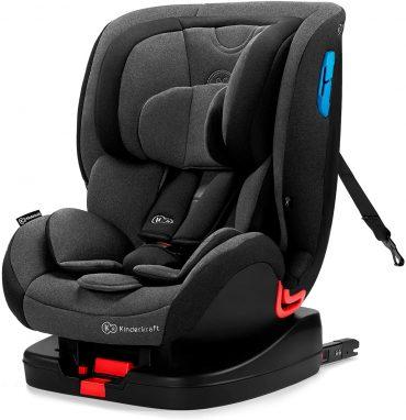 Kinderkraft مقعد سيارة للأطفال VADO with ISOFIX system black