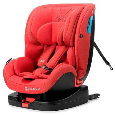 Kinderkraft مقعد سيارة للأطفال VADO with ISOFIX system red