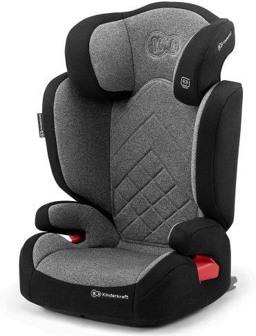 Kinderkraft مقعد سيارة للأطفال XPAND grey with ISOFIX system