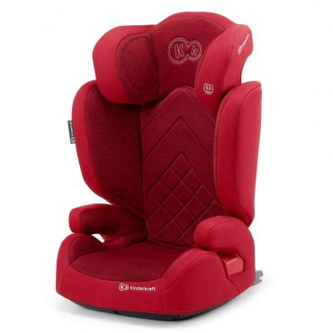 Kinderkraft مقعد سيارة للأطفال XPAND red with ISOFIX system