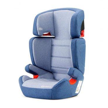 Kinderkraft مقعد سيارة للأطفال Junior Fix navy with ISOFIX system