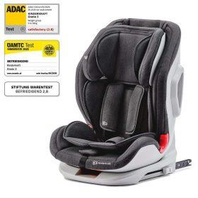Kinderkraft مقعد سيارة للأطفال ONETO3 with ISOFIX system black