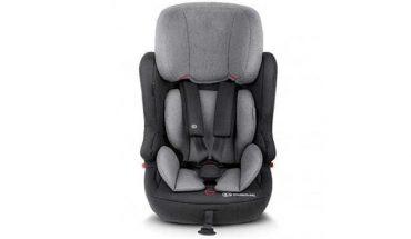 Kinderkraft مقعد سيارة للأطفال with ISOFIX system FIX2GO black/gray