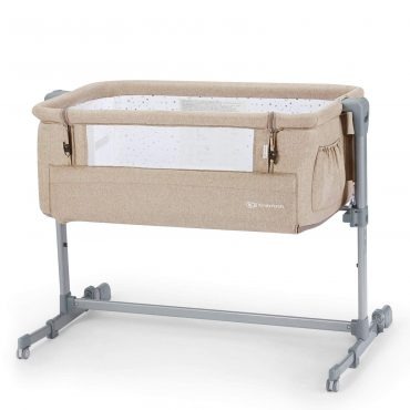 Kinderkraft سرير أطفال Baby cot NESTE beige