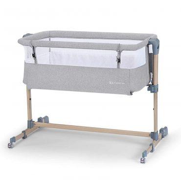 Kinderkraft  سرير أطفال Baby cot Neste Air grey