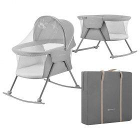 Kinderkraft Baby cot/cradle LOVI سرير سفر قابل للطي grey
