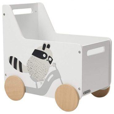Kinderkraft RACOON صندوق الألعاب
