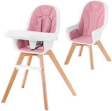 Kinderkraft كرسي أطفال 2in1 TIXI pink