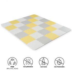 Kinderkraft لعبة المربعات الإسفنجية LUNO yellow