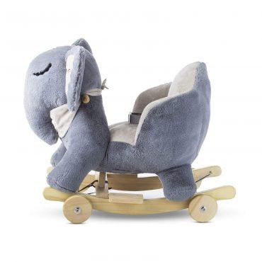 Kinderkraft المقعد المتنقل على شكل فيل grey