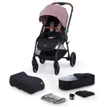 Kinderkraft عربة EVOLUTION COCOON 2IN1 mauvelous pink
