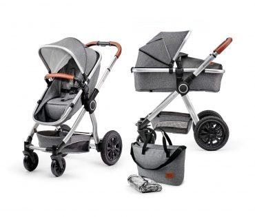 Kinderkraft عربة 2in1 VEO grey