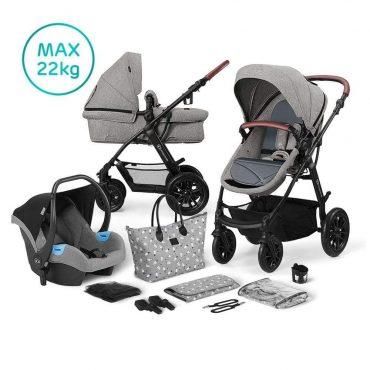 Kinderkraft Multipurpose عربة 3in1 XMOOV Grey