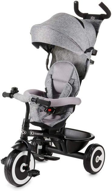 Kinderkraft دراجة ثلاثية العجلات ASTON grey