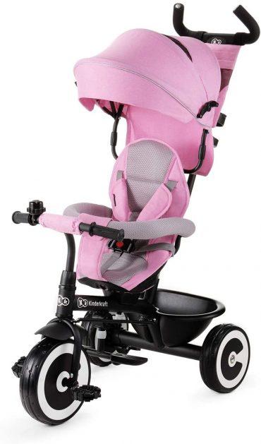 Kinderkraft دراجة ثلاثية العجلات ASTON pink