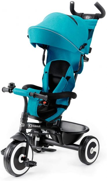 Kinderkraft دراجة ثلاثية العجلات ASTON turquoise