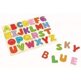 لعبة لوحة الحروف الأبجديةLelin Alphabet Board-Upper Case