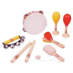 لعبة مجموعة الآلات الموسيقية Lelin - First Musical Instruments Set