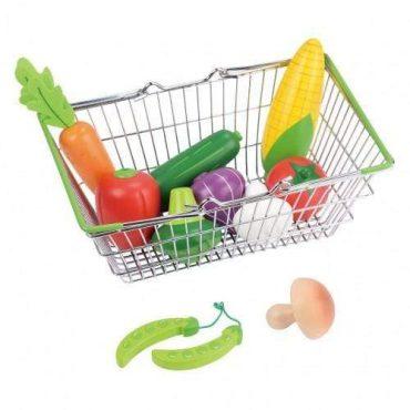 لعبة Lelin - My Shopping Basket - Vegetable Set