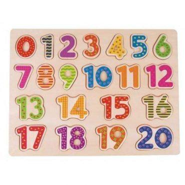 لعبة Lelin - Number Board