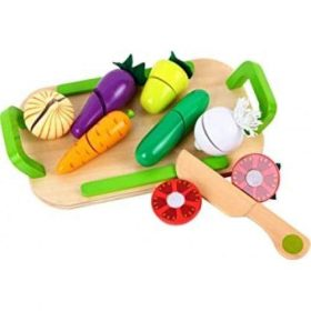 لعبة Lelin - Vegetable Play Set