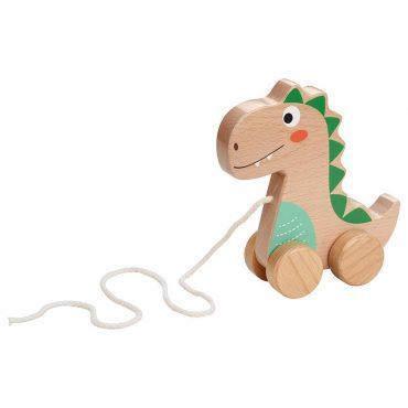 لعبة الديناصور Lelin - Pull Along - Dinosaur