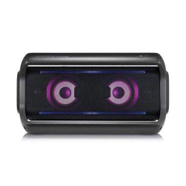 مكبر صوت LG - PK7 XBoom Go Water-Resistant Wireless Bluetooth Party Speaker - أسود
