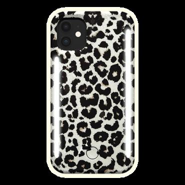 كفر موبايل مع إضاءة أمامية وخلفية Lumee - Duo Case for iPhone 11 - تايجر ذهبي