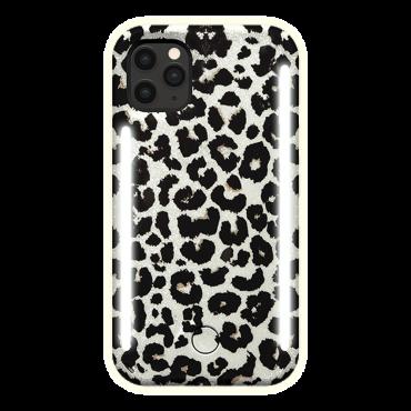 كفر موبايل مع إضاءة أمامية وخلفية Lumee - Duo Case for iPhone 11 Pro - تايجر لامع