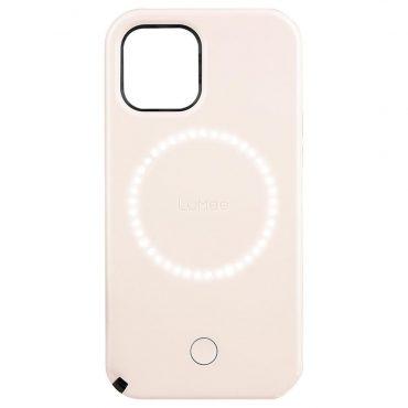 كفر Lumee - Halo Selfie Case for Apple iPhone 12 Pro - زهري