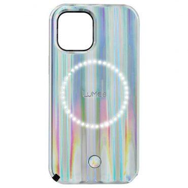كفر Lumee - Halo Selfie Case for Apple iPhone 12 Pro Max - Bolt